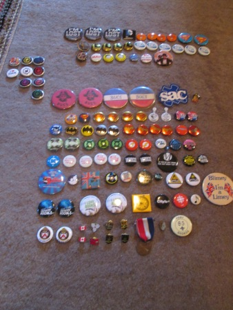 Step One:  All My Buttons