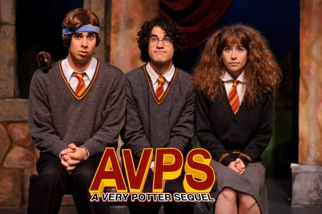 AVPS Ron Harry Hermione