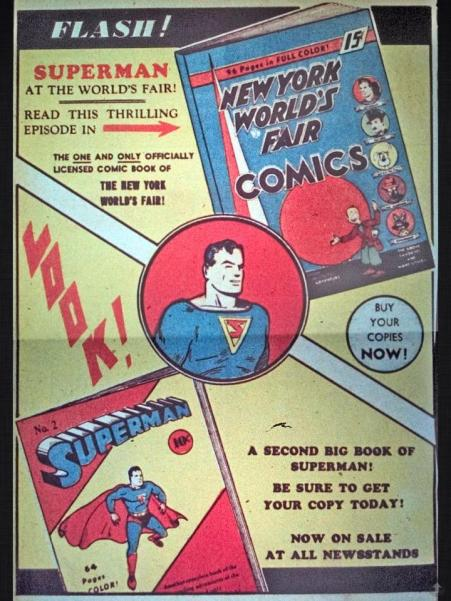 3 Superman Old Ad