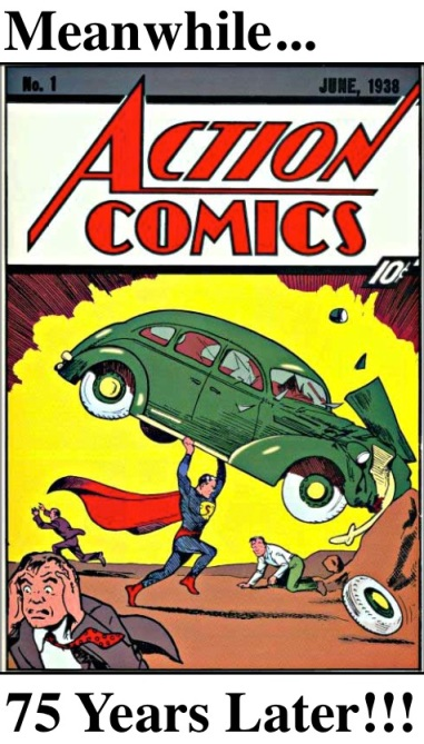 7 Superman Action Comics 1  75th Anniv
