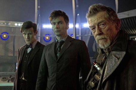 Doctor Who The Day Of The Doctor Three Doctors