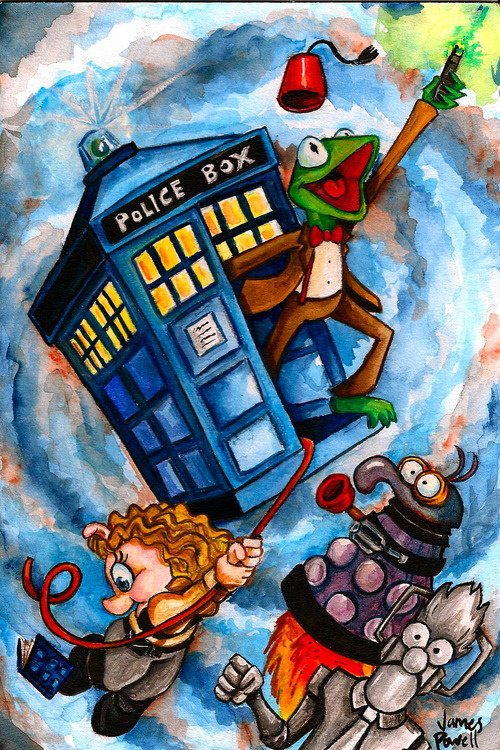 Dr Who Muppets