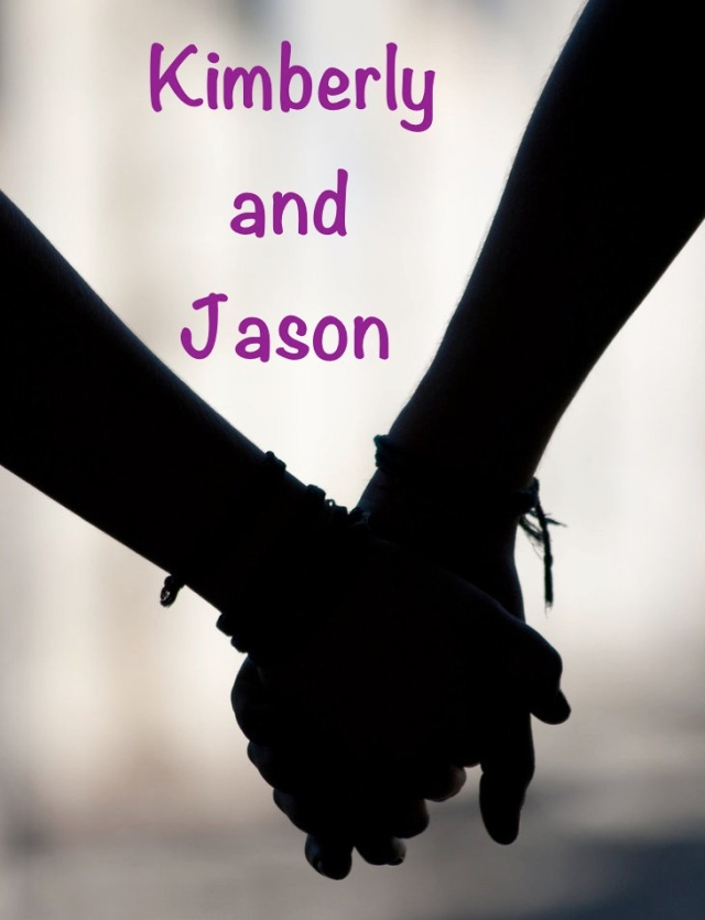Hand holding shadow Kimberly Jason