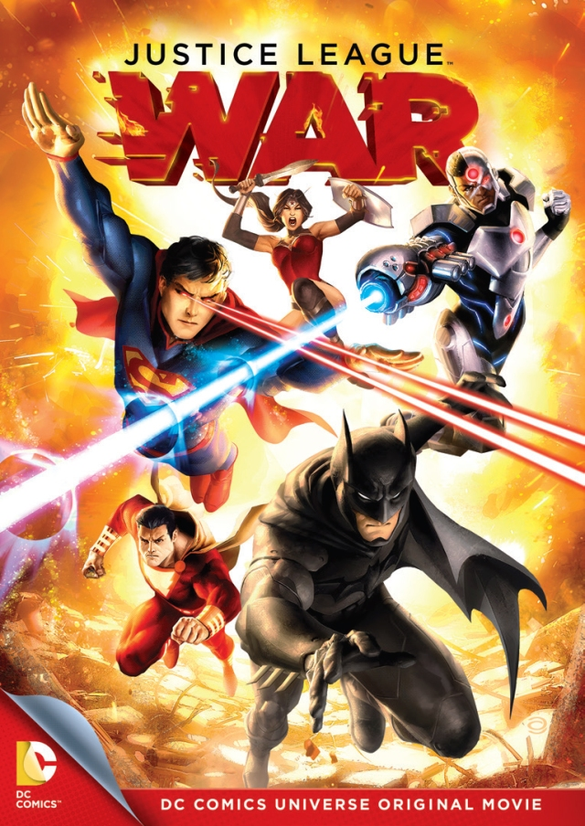 Justice League War dvd cover