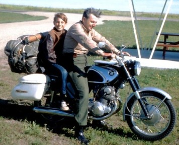 Robert and Chris Pirsig ZMM