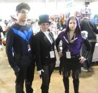 Nightwing and Zatanna and Friend!!!