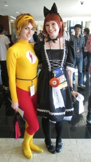 Flash and Friend!!