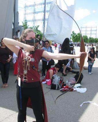 An Archer Taking Aim!
