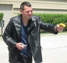 Ninth Doctor!!!!!!!!! Armed With A Banana!
