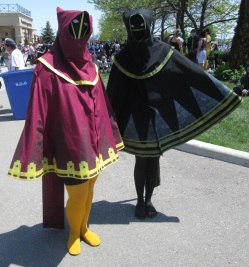 Two Spooky Cloaks!
