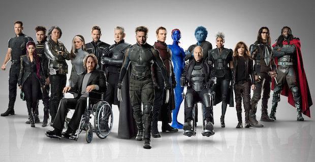X-Men Days Of Future Past Complete Cast