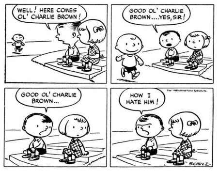 Peanuts Charles Schulz Early Strip