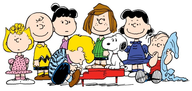 Peanuts Charles Schulz The Gang
