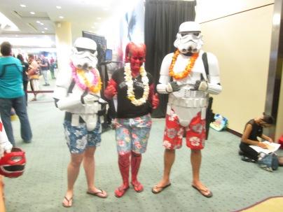 Hawaiian Stormtroopers!!