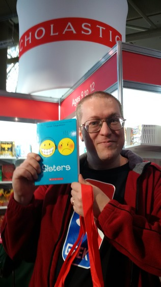 My first purchase! Sisters by Raina Telgemeier!