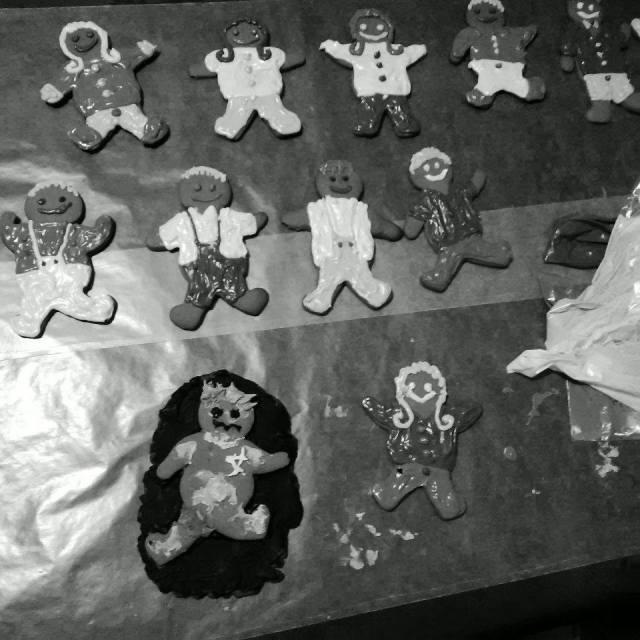 5 Gingerbread Cookies
