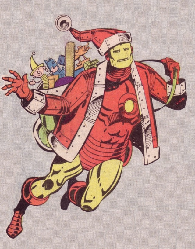 Iron Man Merry Christmas
