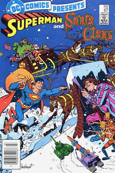 Superman helps Santa 2
