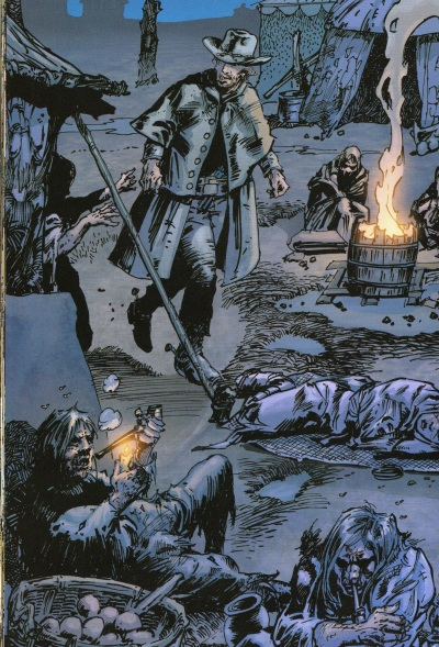 Jonah Hex No Way Back Walking