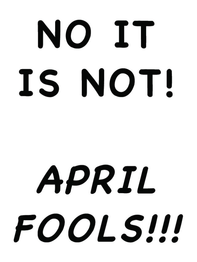 April Fools 2015