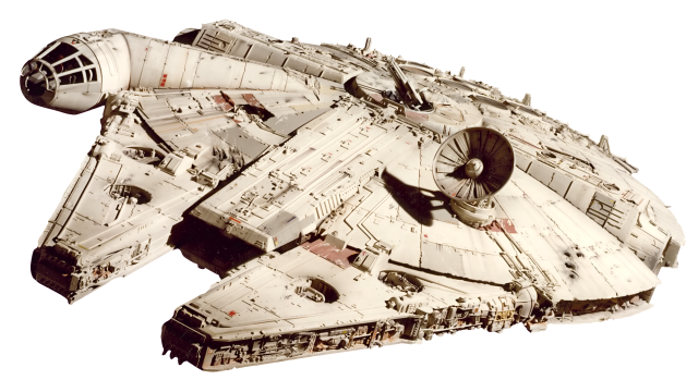 The real Millennium Falcon