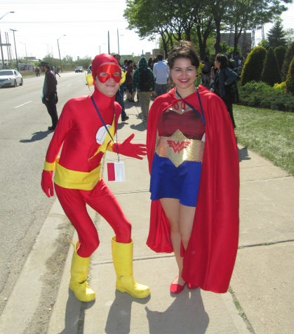 Flash and Wonder Woman!!