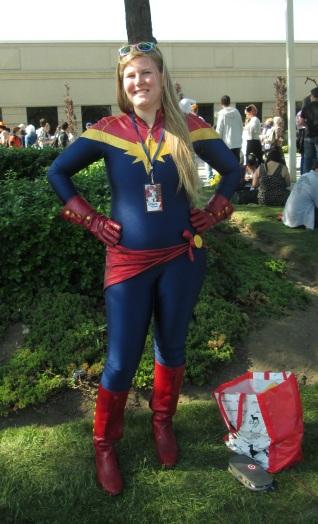 Captain Marvel!!