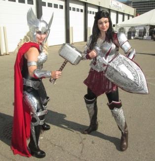 Thor and Sif!!