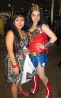 The amazing @LinhHueTran and Wonder Woman!!
