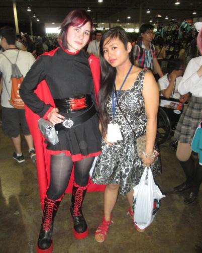 Black Dress Lady and the amazing @LinhHueTran!!