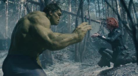 Avengers Age Of Ultron Black Widow Hulk