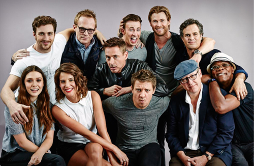 Avengers Age Of Ultron reali life cast