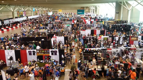 Fan Expo North from above!!