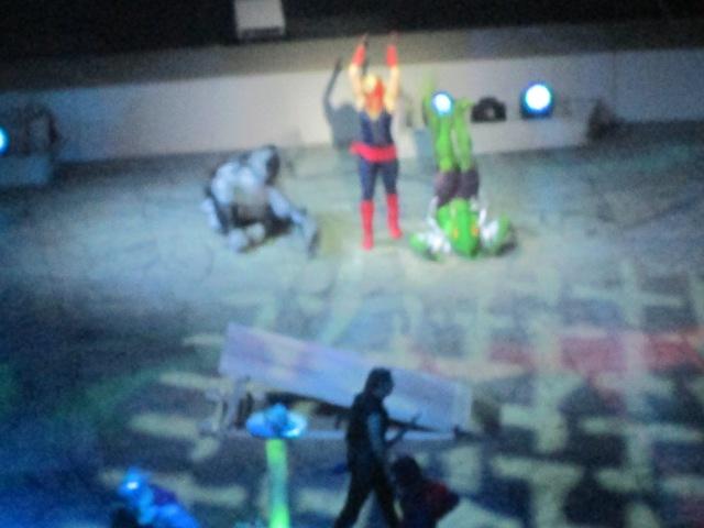 10 MUL Captain Marvel Fighting