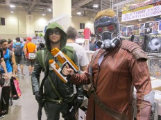 Green Arrow versus Star Lord!!