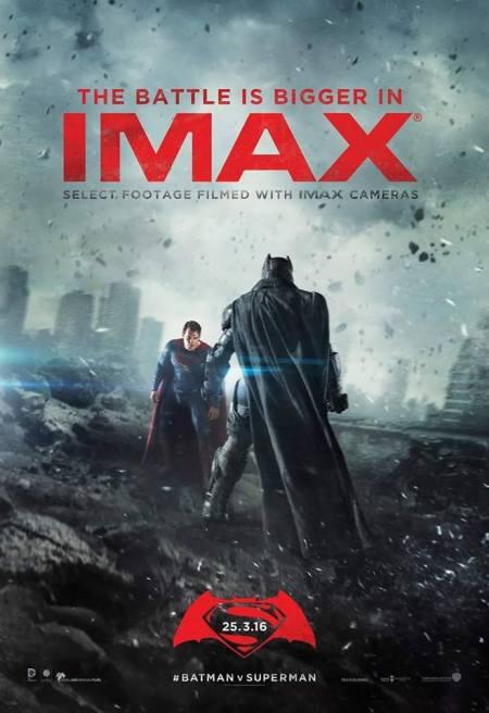 Batman V Superman imax poster