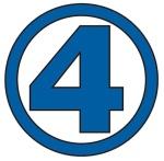 Fantastic Four Four Logo