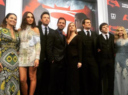 Batman V Superman cast pic
