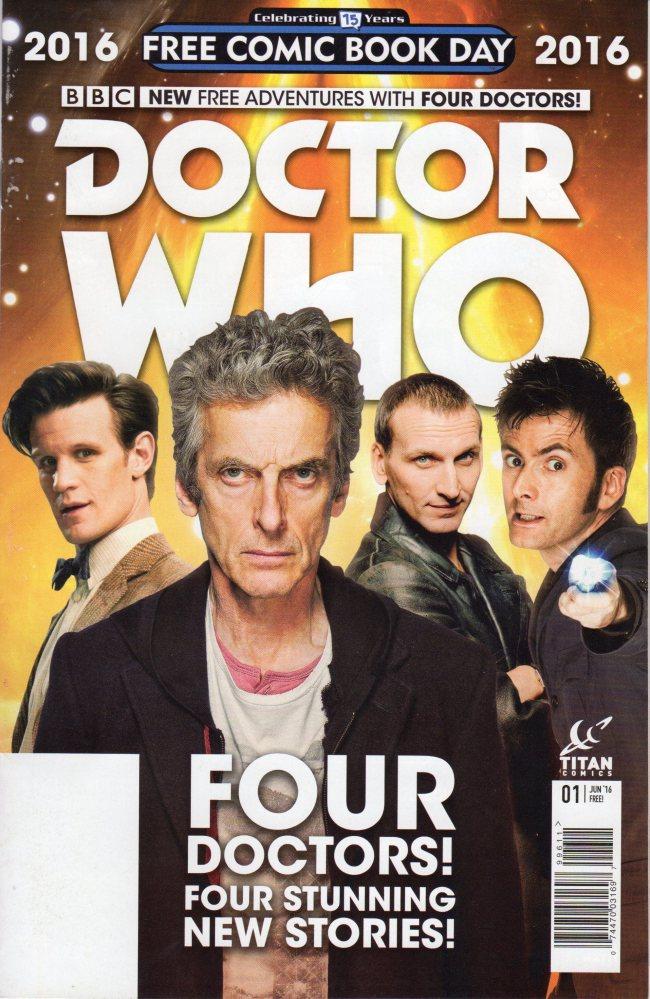 Doctor Who FCBD 2016