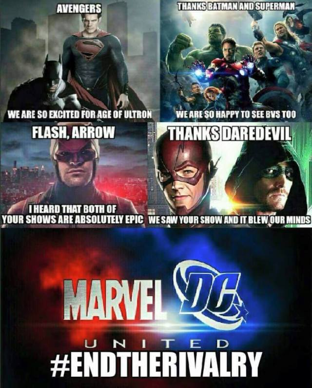 Marvel DC #EndTheRivalry