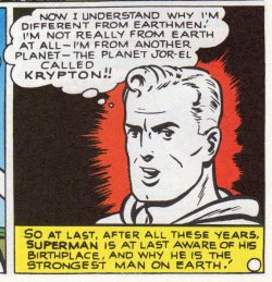 Superman In The Forties origin finds out