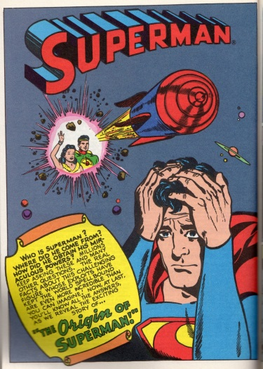 Superman In The Forties origin