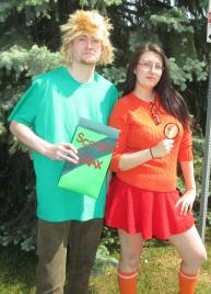 Shaggy and Velma solving a mystery!