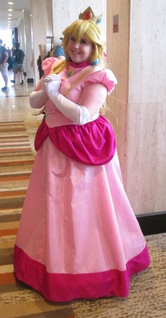 Princess Peach striking a pose!