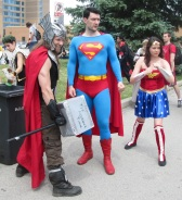 Thor and Superman and Wonder Woman gonna kick butt!