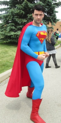 Superman ready for Action!