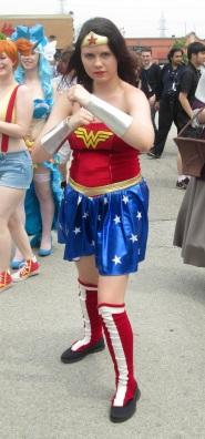 Wonder Woman being Sensational!