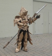 Armour guy about to spear something!