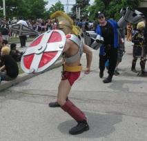 Gladiator attack!