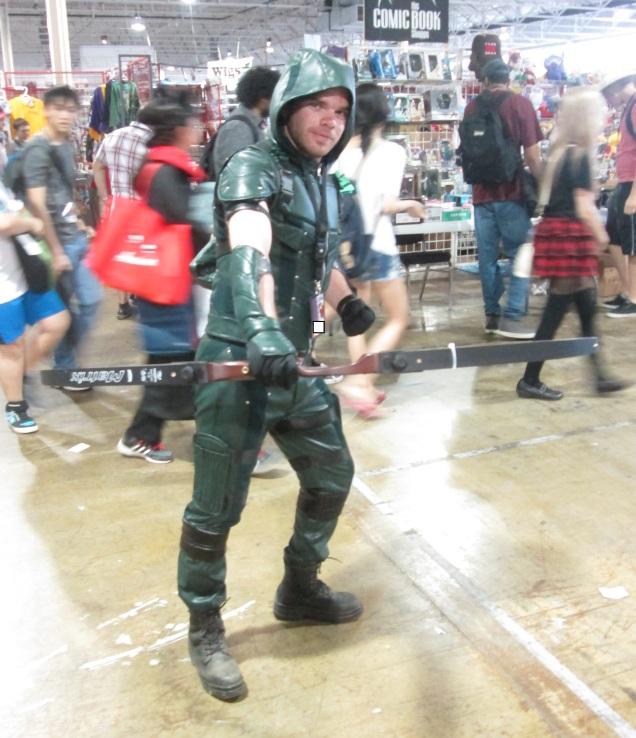 Green Arrow will not fail this city!